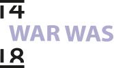 14-18 WAR WAS
